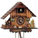 Quartz Cuckoo clocks with automaton