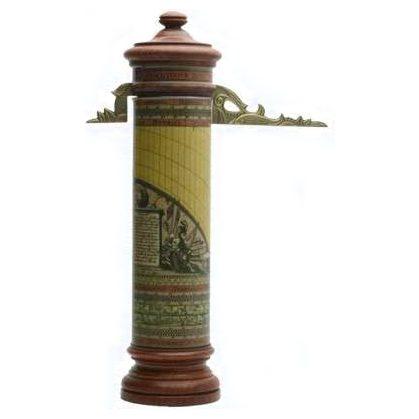 Meridiana portatile cilindrica chiamata anche 'orologio del pastore'